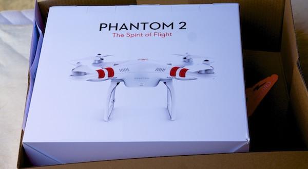 DJI Phantom 2 Sie haben Post