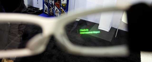 Augmented Reality durch die Sony Brille republica 2014