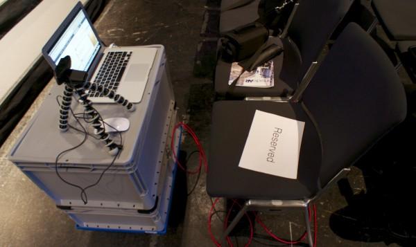 Mobiles Hangout on Air Studio
