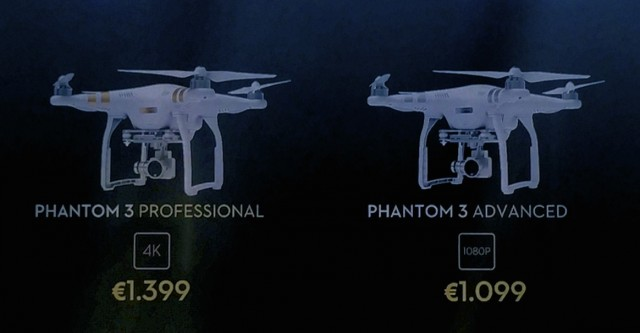 DJI Phantom 3 Preise Versionen