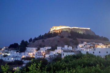 Camper machen Hotelurlaub auf Rhodos