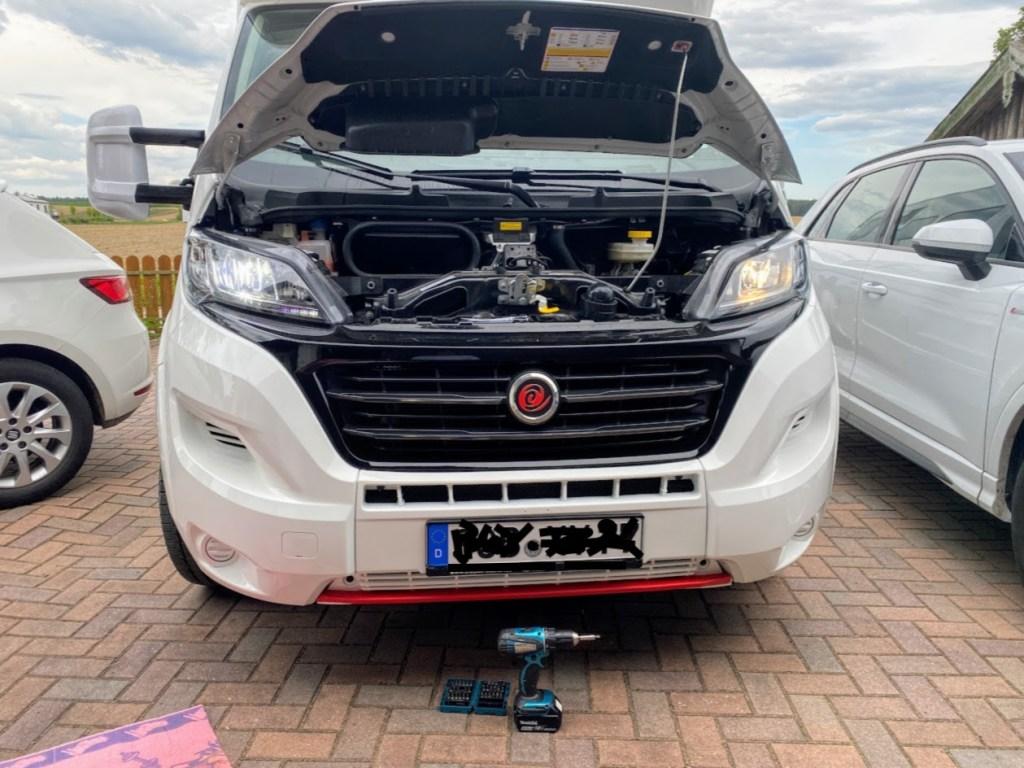 Wir rüsten um auf LED-Scheinwerfer am Fiat Ducato Citroen Jumper Peugeot Boxer