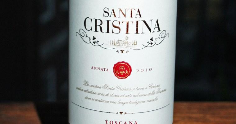 Rotweintest: Santa Cristina Rosso Toscana IGT