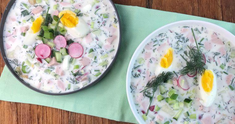 Okroschka – eine kühle Sommer-Suppe aus Russland