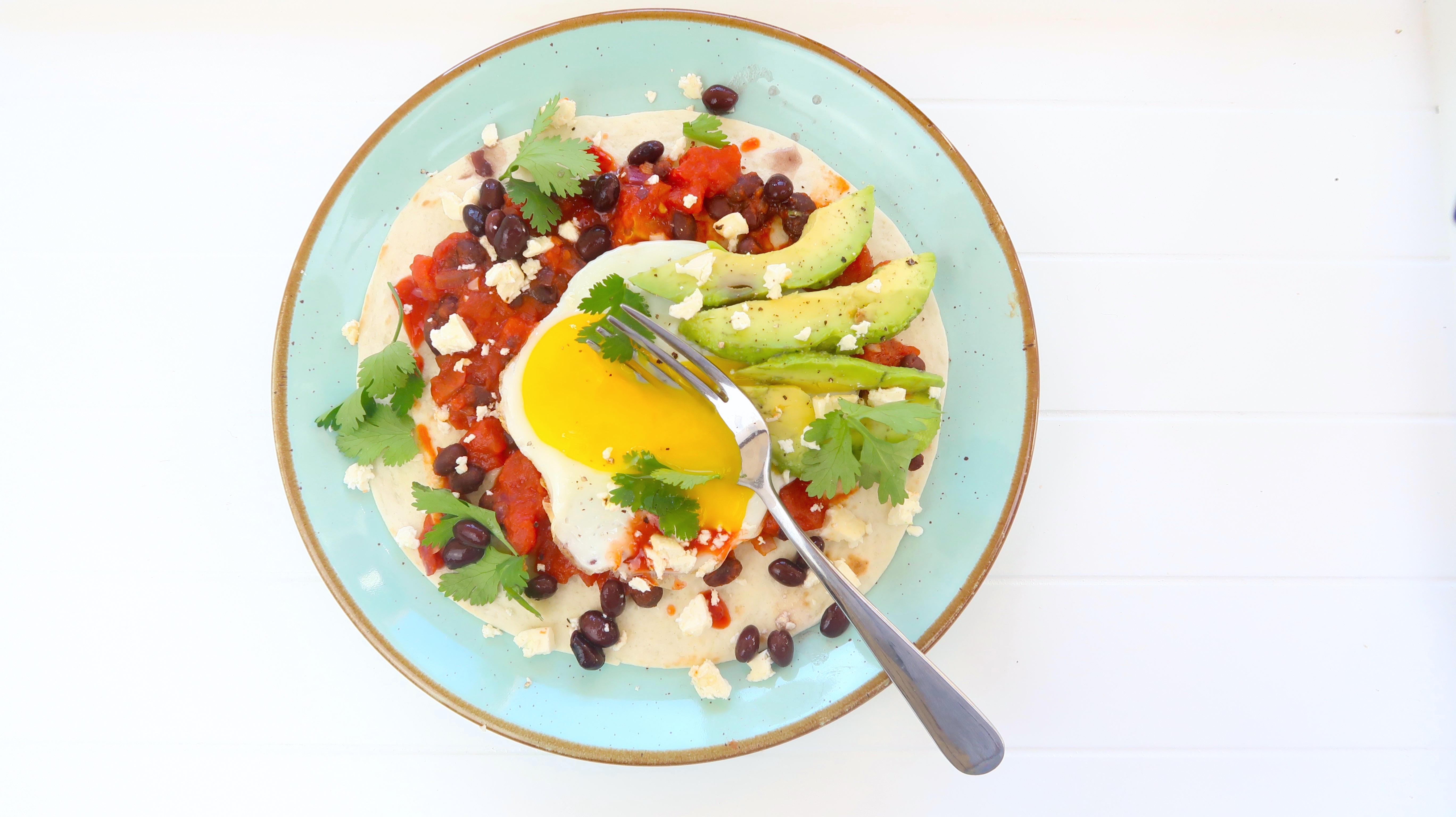 Mexikanisches Frühstück: Huevos Rancheros