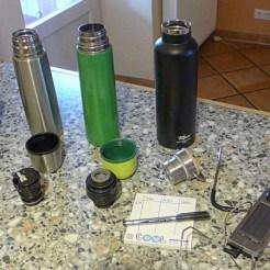 Edelstahltrinkflasche Telper
