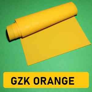 GZK Orange Teststück 50x15cm