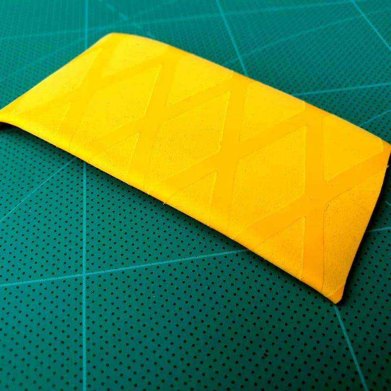 X Schrumpfschlauch Angelrute gelb