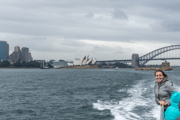 Sydeny Opera House from the ferry