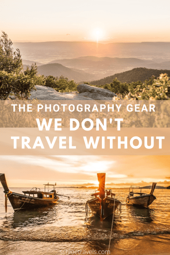 Our recommended photography gear