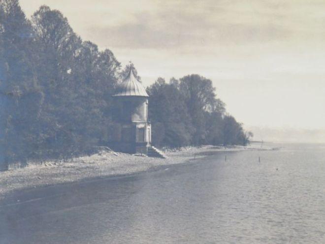 das ehem. Badhaus von Schloss Kirchberg