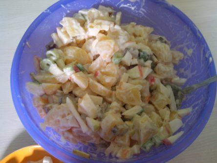 Kartoffelsalat klassich vegan
