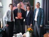 Prof. Göbel, Prof. Simons mit Gattin, Prof. Mense