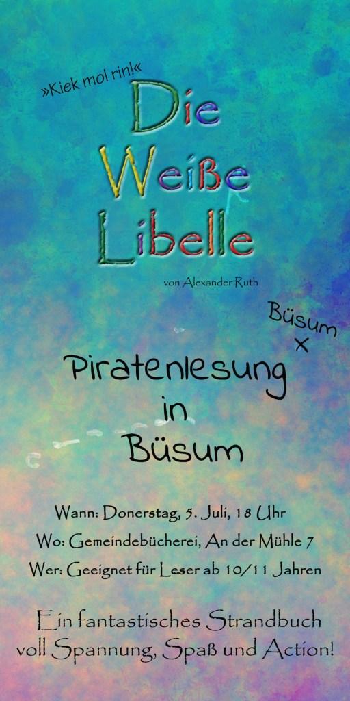 Piratenlesung in Büsum
