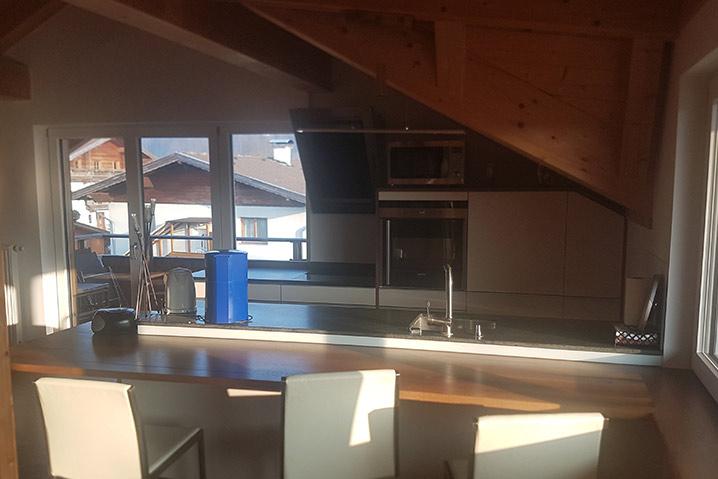 ebbs ferienwohnung küche und essplatz