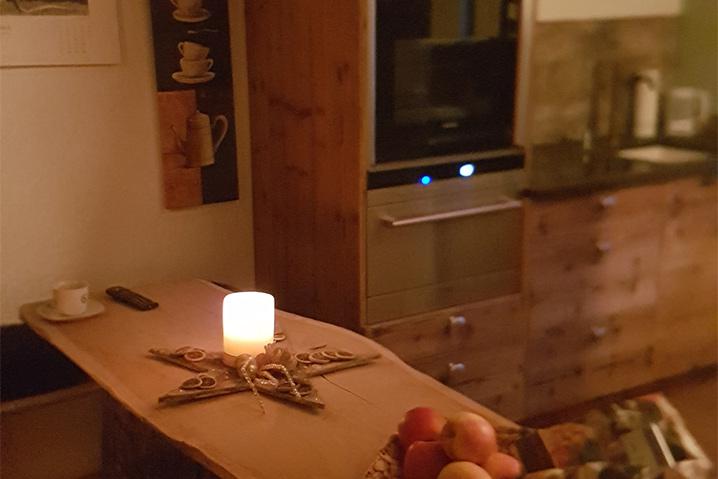 Ferienwohnung Tirol privat Almrausch Küche