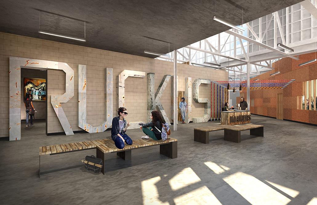 Ruckus Makerspace Community Architect Schmidt