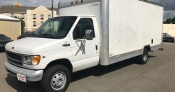 2001 FORD E350 BOX VAN