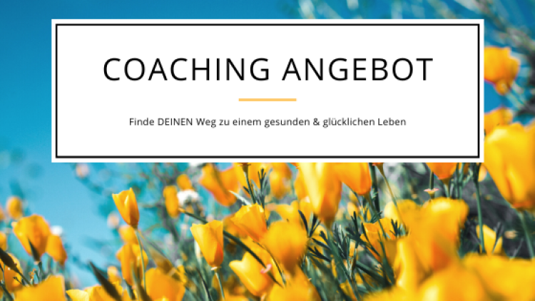 Coaching Angebot