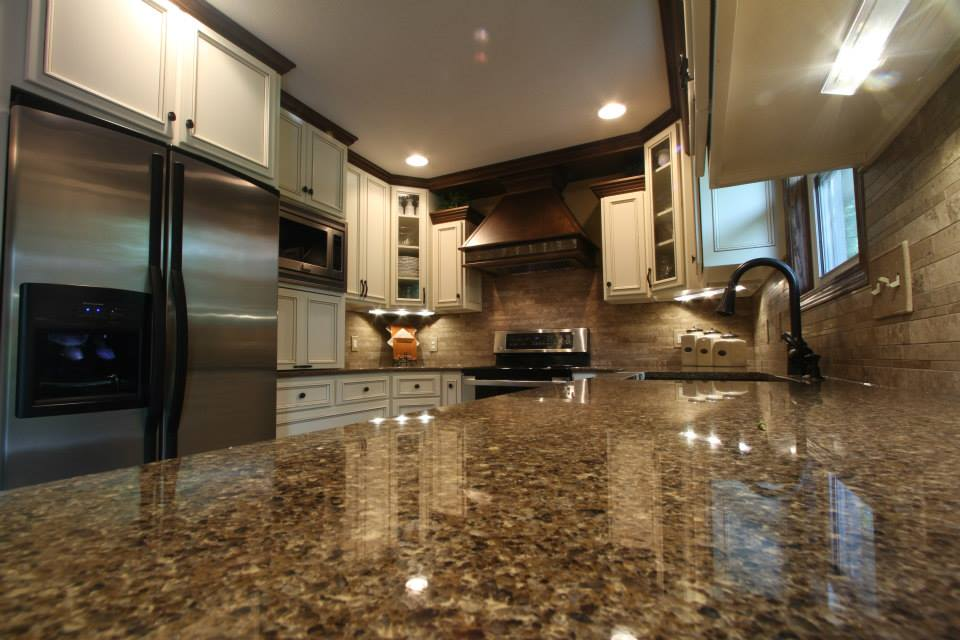 U Shaped Kitchen Countertops