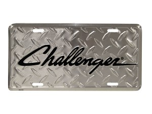 Challenger License Plate