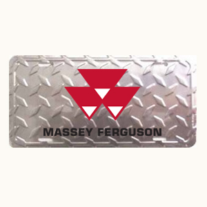 Massey Ferguson License Plate