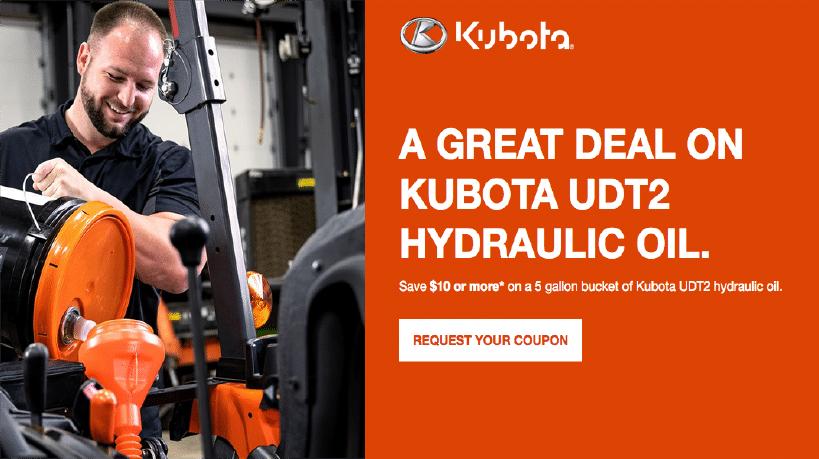Kubota Oil Special