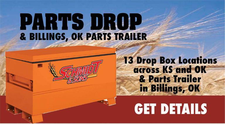 Parts Drop Boxes and Parts Trailer