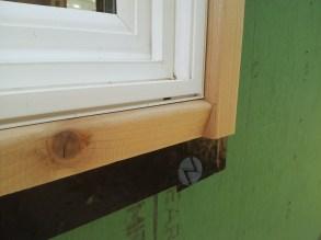 tiny house window trim