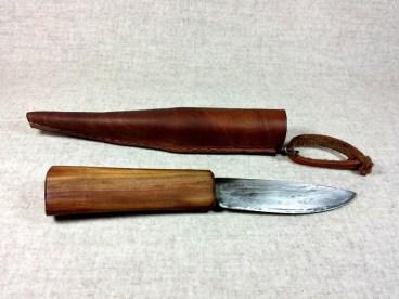 hochmittelalterliches Messer mit passender Scheide