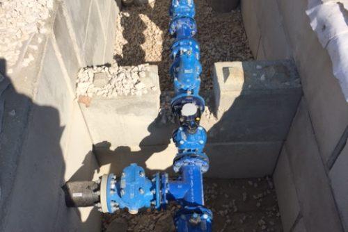 Regard pièces d'eau béton block Schmit tp
