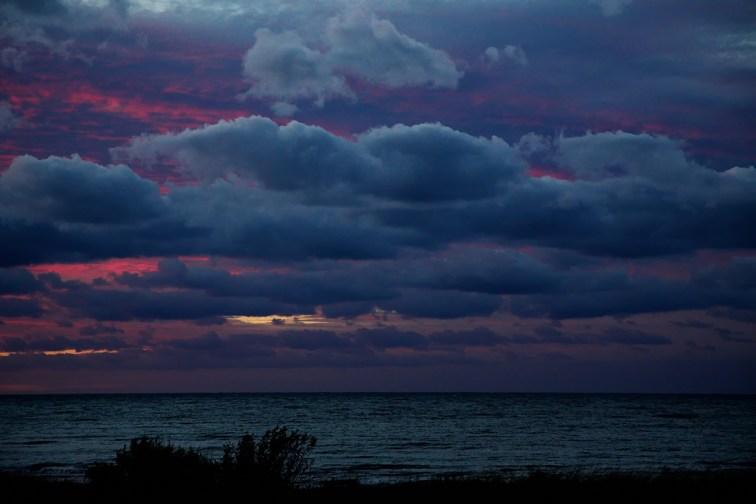Sonnenuntergang-Hohwachter-Bucht