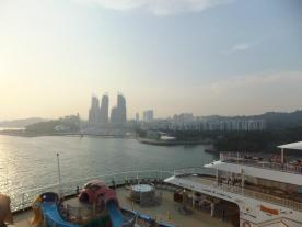 Superstar Virgo Cruise View of Singapore
