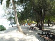 Exploring Pulau Redang 2013 - Bench by the beach
