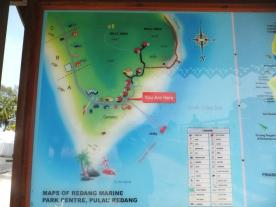 Pulau Redang Map - You are here!