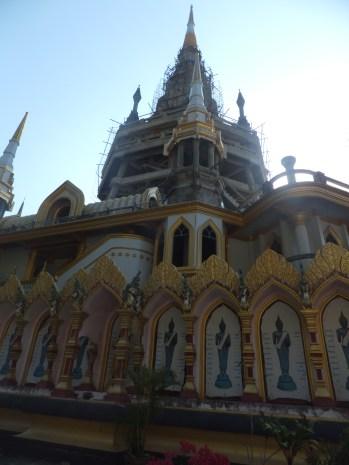 Krabi The Tiger Cave Temple Still Under Construction Feb 2015