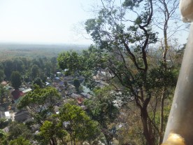 Krabi The Tiger Cave Temple - The lowpoint view