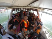 Boat to Pulau Perhentian Kecil, Pics Credit to Kostonguy using GoPro