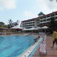Desaru Damai Beach Resort Swimming Pool Right