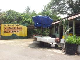 Pulau Ubin Funny Writings