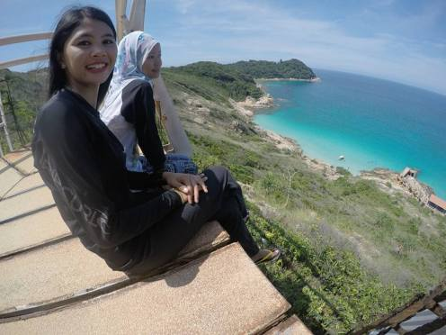 Pulau Perhentian Kecil Windmill / Pulau Perhentian Kecil Kincir Angin - GPJB to Kincir Angin - Pic for Momentos with my friend, GPJB President's wife - 3