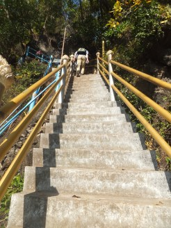 Krabi The Tiger Cave Temple - Steps