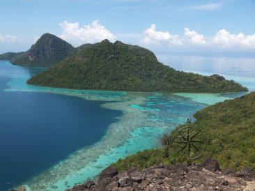 Explore Sabah Day 19: Bohey Dulang, Semporna - To the right