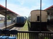 Sabah Day 7 Visit to Tg. Aru Railway aka North Borneo Railway Train Backview