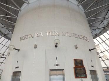 Inside Menara Tun Mustapha