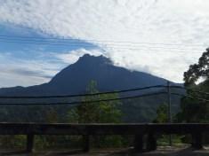 Mount Kinabalu in view