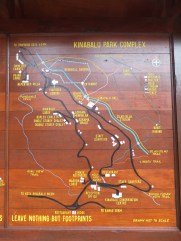 Mount Kinabalu Park Complex Map