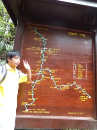 Mount Kinabalu Starting point Briefing by Edwin