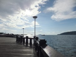 Sabah Park Jetty Walkway Great for Sunset Viewing