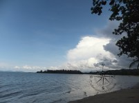 View from right of Kinarut Beach